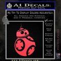 Droid Space Battle D2 Decal Sticker Robot Pink Vinyl Emblem 120x120