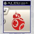 Droid Space Battle D2 Decal Sticker Robot Red Vinyl 120x120