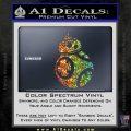 Droid Space Battle D2 Decal Sticker Robot Sparkle Glitter Vinyl Sparkle Glitter 120x120
