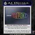 DuPont Du Pont Decal Sticker Sparkle Glitter Vinyl Sparkle Glitter 120x120