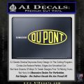 DuPont Du Pont Decal Sticker Yellow Vinyl 120x120