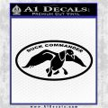 Duck Commander Decal Sticker DOV Black Vinyl Logo Emblem 120x120
