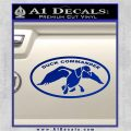 Duck Commander Decal Sticker DOV Blue Vinyl 120x120