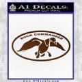 Duck Commander Decal Sticker DOV Brown Vinyl 120x120