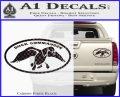 Duck Commander Decal Sticker DOV Carbon Fiber Black 120x97