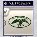 Duck Commander Decal Sticker DOV Dark Green Vinyl 120x120