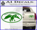 Duck Commander Decal Sticker DOV Green Vinyl 120x97
