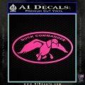 Duck Commander Decal Sticker DOV Hot Pink Vinyl 120x120