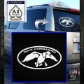 Duck Commander Decal Sticker DOV White Vinyl Emblem 120x120