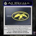 Duck Commander Decal Sticker DOV Yellow Vinyl 120x120