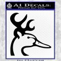 Ducks Unlimited Browning Mashup Decal Sticker Black Vinyl Logo Emblem 120x120