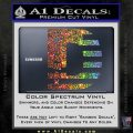 Duramax Decal Sticker Flag D1 Sparkle Glitter Vinyl Sparkle Glitter 120x120