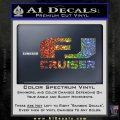 FJ Cruiser Decal Sticker DN Sparkle Glitter Vinyl Sparkle Glitter 120x120
