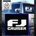 FJ Cruiser Decal Sticker DN White Vinyl Emblem 120x120