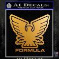 Formula Boats DNSO Decal Sticker Metallic Gold Vinyl 120x120