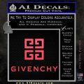 Givenchy Logo Full Decal Sticker Pink Vinyl Emblem 120x120