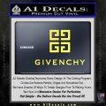 Givenchy Logo Full Decal Sticker Yellow Vinyl 120x120