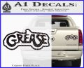 Grease Movie Decal Sticker C1 Carbon Fiber Black 120x97