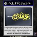 Grease Movie Decal Sticker C1 Yellow Vinyl 120x120