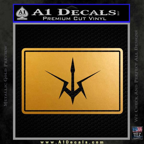 Gundam Variant Neo Zeon Decal Sticker » A1 Decals