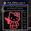Hello Kitty 007 Decal Sticker Pink Vinyl Emblem 120x120
