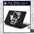 Hello Kitty 007 Decal Sticker White Vinyl Laptop 120x120
