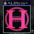 Hermes Paris Decal Sticker CR1 Hot Pink Vinyl 120x120