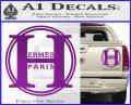 Hermes Paris Decal Sticker CR1 Purple Vinyl 120x97