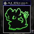 How To Train Your Dragon Decal Sticker Toothless D1 Young Lime Green Vinyl 120x120