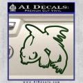 How To Train Your Dragon Decal Sticker Toothless D2 Dark Green Vinyl 120x120