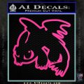 How To Train Your Dragon Decal Sticker Toothless D2 Hot Pink Vinyl 120x120