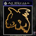 How To Train Your Dragon Decal Sticker Toothless D2 Metallic Gold Vinyl 120x120
