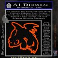 How To Train Your Dragon Decal Sticker Toothless D2 Orange Vinyl Emblem 120x120