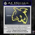 How To Train Your Dragon Decal Sticker Toothless D2 Yellow Vinyl 120x120