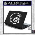How To Train Your Dragon Hiccup Logo Decal Sticker D2 White Vinyl Laptop 120x120
