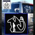 How To Train Your Dragon Hiccup Toothless Mashup Decal Sticker White Vinyl Emblem 120x120
