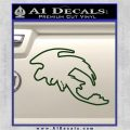 How To Train Your Dragon Toothless D5 Decal Sticker Dark Green Vinyl 120x120