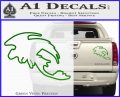 How To Train Your Dragon Toothless D5 Decal Sticker Green Vinyl 120x97