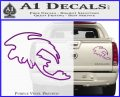 How To Train Your Dragon Toothless D5 Decal Sticker Purple Vinyl 120x97