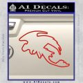 How To Train Your Dragon Toothless D5 Decal Sticker Red Vinyl 120x120