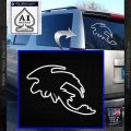 How To Train Your Dragon Toothless D5 Decal Sticker White Vinyl Emblem 120x120
