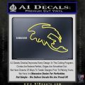 How To Train Your Dragon Toothless D5 Decal Sticker Yellow Vinyl 120x120