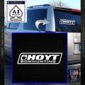 Hoyt Bow Hunting Decal Sticker D3 White Vinyl Emblem 120x120