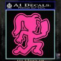 ICP Hatchet Girl Decal Sticker DO Hot Pink Vinyl 120x120