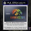 Iowa Hawkeyes DH Decal Sticker Sparkle Glitter Vinyl Sparkle Glitter 120x120