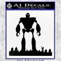 Iron Giant Decal Sticker Black Vinyl Logo Emblem 120x120