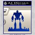 Iron Giant Decal Sticker Blue Vinyl 120x120