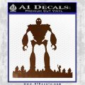 Iron Giant Decal Sticker Brown Vinyl 120x120