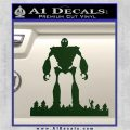 Iron Giant Decal Sticker Dark Green Vinyl 120x120