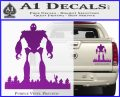 Iron Giant Decal Sticker Purple Vinyl 120x97